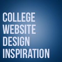 College Website Design Inspiration