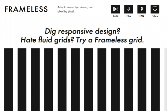 Frameless Grid