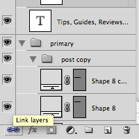 Editing Multiple Text Layers Photoshop