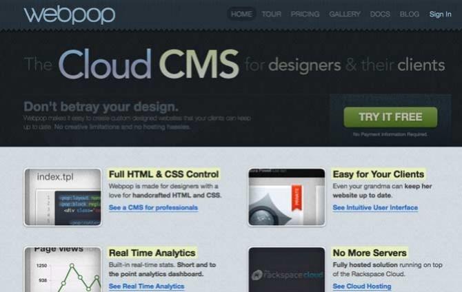 WebPop CMS
